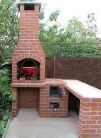 Grilluri, gratare si cuptoare de gradina. Mester Arad | Seminee Arad Outdoor Wood Fireplace, Grilling, Photo Wall, New Homes, Backyard, Outdoor Decor, House, Barbecues, Outdoors