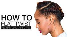 Hairstyles black kids flat twist Ideas - New Site Natural Hair Twist Out, Be Natural, Natural Hair Styles, Going Natural, Nattes Twist Outs, Flat Twist Out, Twist Bun, Twist Braids, Flat Twist Hairstyles