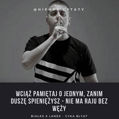 #bialas #lanek #sbmafija #sb #rap #hiphop #rapcytaty #hiphopcytaty #cytaty #polskihiphop #polskihiphop #tylkorap #cytatyrap #cytatyhiphop #warsaw #warszawa #polishboy #polishgirl #polska #cytat Hiphop, Rap, Quotes, Instagram, Quotations, Hip Hop Dance, Qoutes, Rap Music, Hip Hop