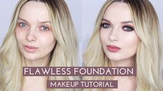 Flawless Foundation (Without Concealer!!) Makeup Tutorial // MyPaleSkin ...