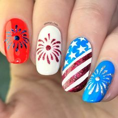 Details about American Flag Stencils for Nails, Nail Stickers, Nail Art, Nail Vinyls - New Sites Patriotic Nails, 4th Of July Nails, July 4th Nails Designs, Nail Stencils, Nail Art Stickers, Beautiful Nail Designs, Nail Decorations, Easy Nail Art, Cute Nails