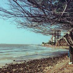 A praia mais bonita da cidade.