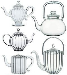 Mariage Frères glass teapots - my next quest will be for various glass teapots to display my crafting supplies in for my craft room.