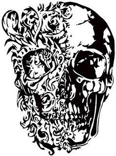 dd7872a73 Amazon.com: Wall Decals Sugar Skull Decal Vinyl Sticker Room Home Decor Art  Murals MN211 (30x22): Home & Kitchen