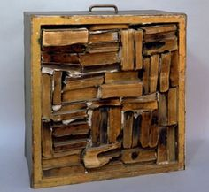 John Latham, Drawer with Charred Material, 1960,