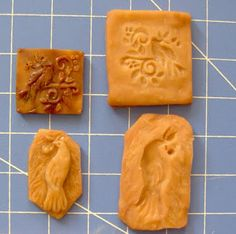 Wonderful press mold tutorial by Cynthia Cranes Whimsical Animal Paintings, Porcelain Ceramics and Gardening Goodness: Ceramic Jewelry Press Mold Tutorial Ceramic Studio, Ceramic Clay, Porcelain Ceramics, Ceramic Jewelry, Polymer Clay Jewelry, Ceramics Projects, Ceramics Ideas, Sculpey Clay, Play Clay
