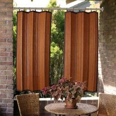Wrought Iron Sheer Indoor/Outdoor Grommet Top Curtain Panel | Outdoor  Curtain Panels And Drapes | Pinterest | Tops, Curtain Panels And Irons