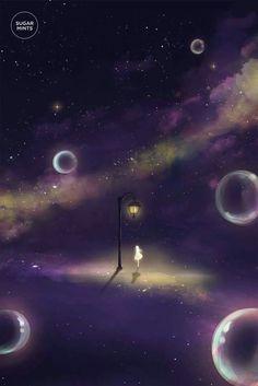 Moons everywhere.