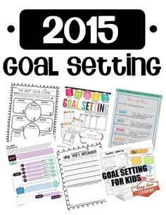 New Year, New Goals - 15 New Year's Resolution & Goal Setting Activities for 2015!!! (Free and $ resources)   #goalsetting and #KPI Experts Follow us now on Twitter @jamsovaluesmart and see the latest news on http://www.jamsovaluesmarter.com