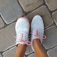 Two paths, and we take the more stylish one. Where are you going in your #ZeroGrand shoes? Tell us with #ColeHaan. #regram @prawnqueen