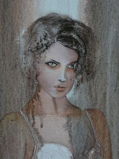 """Don't let me go"" - oil and cement on canvas - size 40xh50cm p 4 cm http://on.fb.me/11ByxFn my fb page sito web - http://lealydilia.wix.com/le-aly-di-lia"