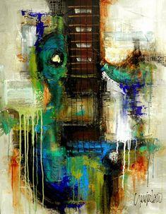 Original Painting  Modern Abstract Art by SLAZO  30x40 von SlazoArt                                                                                                                                                                                 More