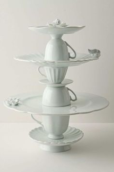 Tea cup cake stand £138 from Anthropologie More