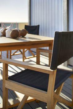 Eco Outdoor Ida dining armchair in Outdoor Linen col. Malt. Outdoor furniture…