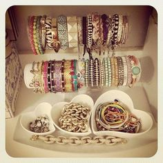 bracelets and cute storage
