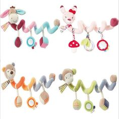 Cheap baby rattle, Buy Quality hanging toy baby directly from China baby hanging toys Suppliers: JJOVCE Baby Hanging Toys Baby Rattles Spiral Plush Toys Doll Infant Playpen Carrier Stroller Accessories Baby Toys dropshipping Newborn Toys, Baby Toys, Newborns, Pram Stroller, Baby Strollers, Baby Mobile, Baby Rattle, Toddler Toys, Baby Accessories