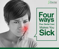 Poor oral hygiene can do more harm to your body than you can possibly think of. It can be a cause for a number of diseases and complicate already existing health conditions. http://dentzz.ca/2016/03/dentzz-dental-diseases-caused-by-poor-dental-hygiene/