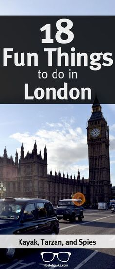 Life it serious enough, right?! Let's go to London and have some fun. We collected some ideas of entertaining fun things to do in London. Just browse through the list, and pick your favorite(s). http://hostelgeeks.com/fun-things-to-do-london/
