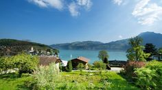 Gästehaus Seeblick - hotels in Spiez, Switzerland  #greentravel #ecofriendly #ecofriendlytravel