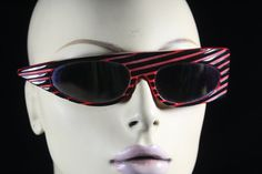 Awesome Retro 1980's designer New Wave sunglasses from Califonia Collector  #vintage #Designer