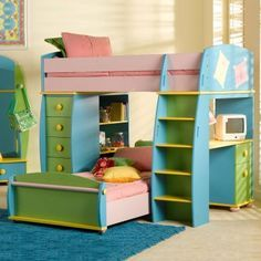 Image detail for -... Bunk Beds Funnies Twin Loft Bed – Girls Bedroom Decorating Ideas