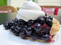 Blueberry Pie | The Best Blueberry Pie EVER