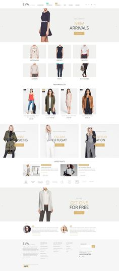 Download Clothes Store Responsive Magento Theme