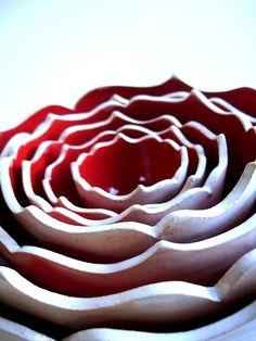 Ceramic nesting bowls From New Moon Studios via Etsy