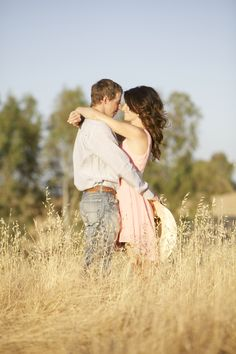 "Do-Si-Do to ""I Do"" With These Country Engagement Ideas Kalie and Andrew's pictures are in here!"