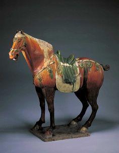 三彩马2 by China Online Museum - Chinese Art Galleries, via Flickr