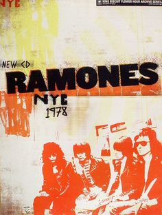 The Ramones at The Palladium, NYC | 2003 poster