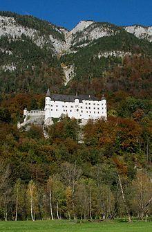 Schloss Tratzberg is a castle in Jenbach, Tyrol, Austria.