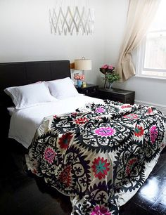 Mexican suzani patterns and bedspreads. I have become obsessed.