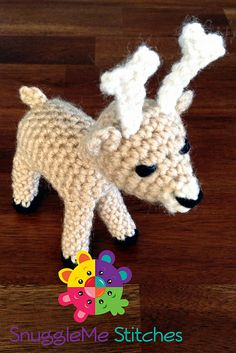 Sherman the Deer Free Amigurumi Pattern PDF version here: http://www.ravelry.com/patterns/library/sherman-the-deer