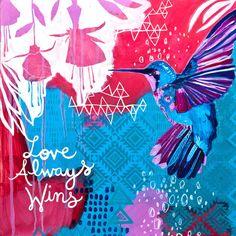 love always wins // by Jessica Swift