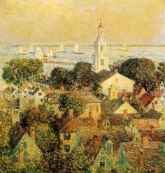 Provincetown (Frederick Childe Hassam - )
