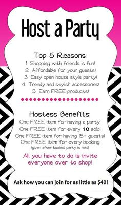 Check out some of the best incentives we offer when you book a party!! Can you say FREE accessories!?! Paparazzi Accessories, FREE accessories, 5 Dollar Jewelry