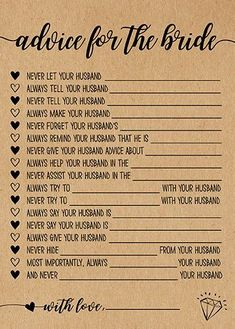 p/advice-for-the-bride-bridal-shower-games-printable-bridal-shower-game-idea-bridal-shower-instant delivers online tools that help you to stay in control of your personal information and protect your online privacy. Fun Bridal Shower Games, Bridal Shower Planning, Bridal Games, Printable Bridal Shower Games, Bridal Shower Party, Bridal Shower Decorations, Couple Shower Games, Bridal Shower Questions, Wedding Showers