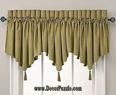 diy valance 2015, stylish valance designs and styles for small window