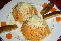 Jak udělat rizoto s kuřecím masem | recept Risotto Recipes, Food Videos, Grains, Food And Drink, Menu, Treats, Chicken, Breakfast, Foods