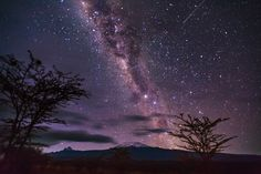 Photograph Milky Way over Mount Kilimanjaro by Dale Johnson on 500px