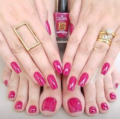 Make an original manicure for Valentine's Day - My Nails Rose Gold Nails, Purple Nails, Nude Nails, White Nails, Gel Nails, Neutral Nails, Yellow Nails, White Nail Designs, Cool Nail Designs