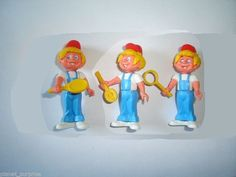 Kinder Surprise Set Ferrero Mascots Sports Boys 1980's Figures Collectibles | eBay