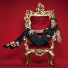 Stephanie McMahon steps back in front of the camera for a stunning new photoshoot. Bow down to the queen. Wrestling Divas, Women's Wrestling, Wwe Photos, Celebrity Photos, Stephanie Mcmahon Hot, Mcmahon Family, Hottest Wwe Divas, Stacy Keibler, Vince Mcmahon