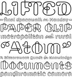 Font, swash | Typophile