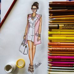 A beautiful look by @fashionhippieloves ❤(Details link bio) #Draw #Drawing #Fashion #Love #Fashionillustration #Illustration #Croqui #Lookdodia #Lookoftheday #Fashionblogger