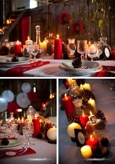 Inspiration deco table de Noël