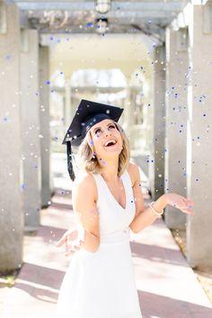 UNR grad photos, college graduation pictures, confetti senior photos, AB PHOTO RENO