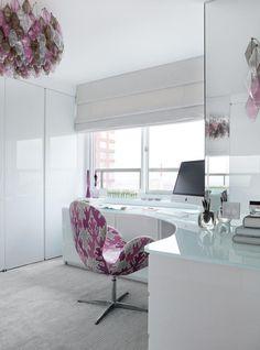 Unique home office desk - #HomeOffice decorations ideas