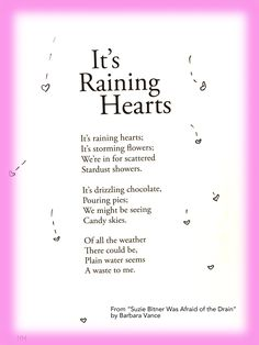 cute children's poem about weather and creativity. Great for school and learning activities. Library activities and common core 1st grade, 2nd grade, and 3rd grade reading. great for ESAL english and language arts